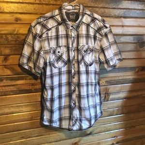 Men's L relaxed fit BKE shirt